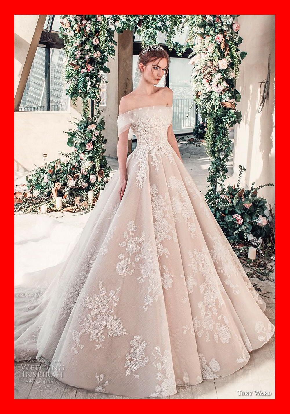 "Tony Ward La Mariée Spring 2019 Wedding Dresses — ""Roman Romance ..."