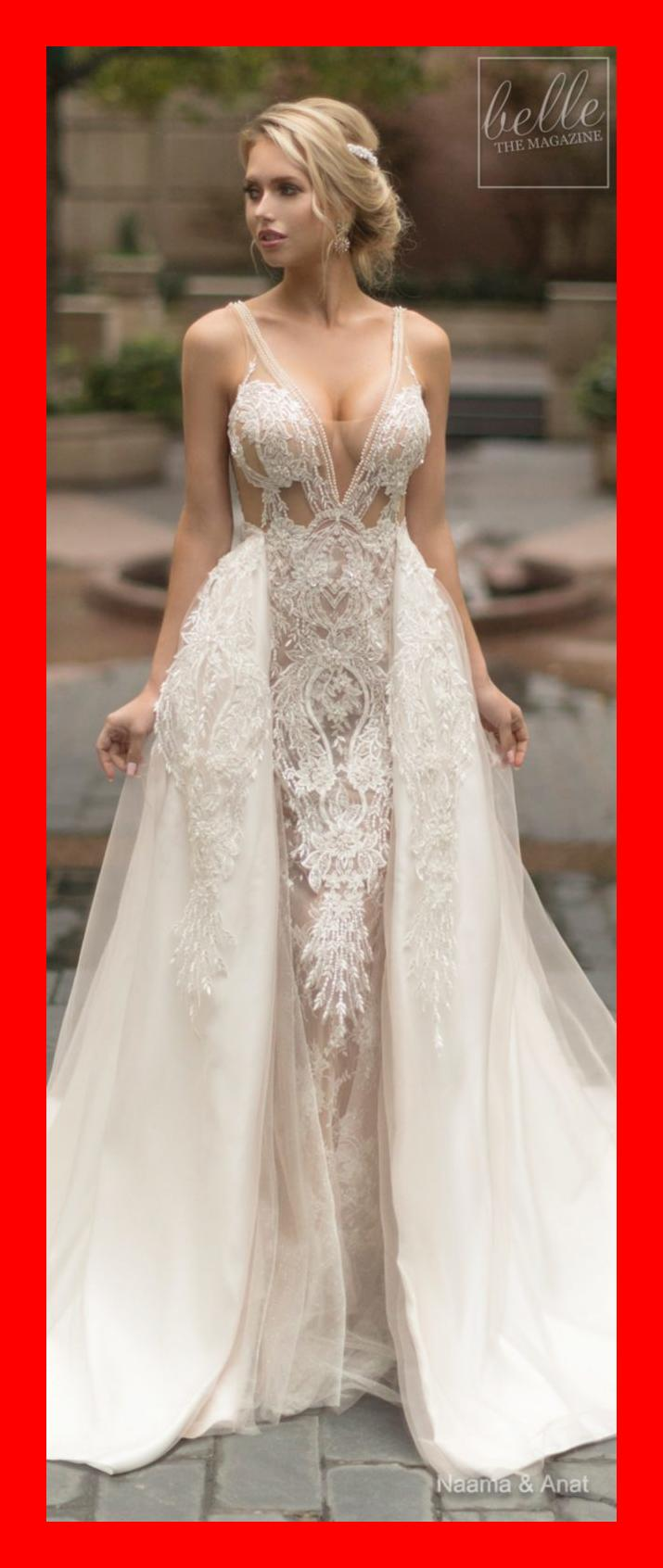 Naama and Anat Wedding Dress Collection 2019: Dancing Up the Aisle
