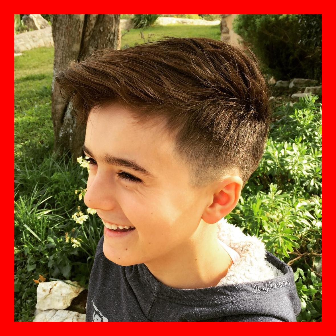 25 Cool Boys Haircuts To Get In 2018