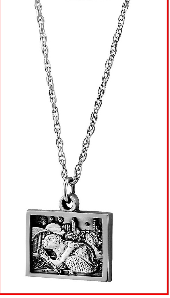 2019 Pendant with Chain in Sterling Silver – MITBrassRat