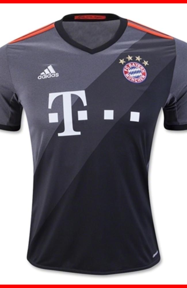 adidas FC Bayern Munich Away Jersey 2016-2017 | Bayern Munich ...