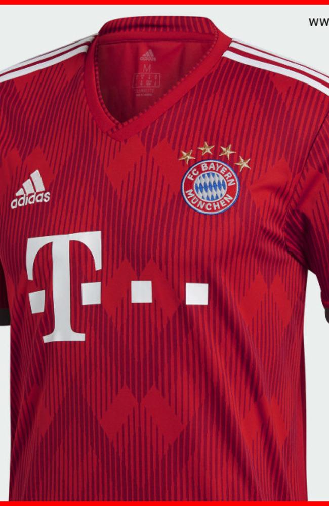 Bayern Munich 18/19 Adidas Home Kit | 18/19 Kits | Football shirt blog