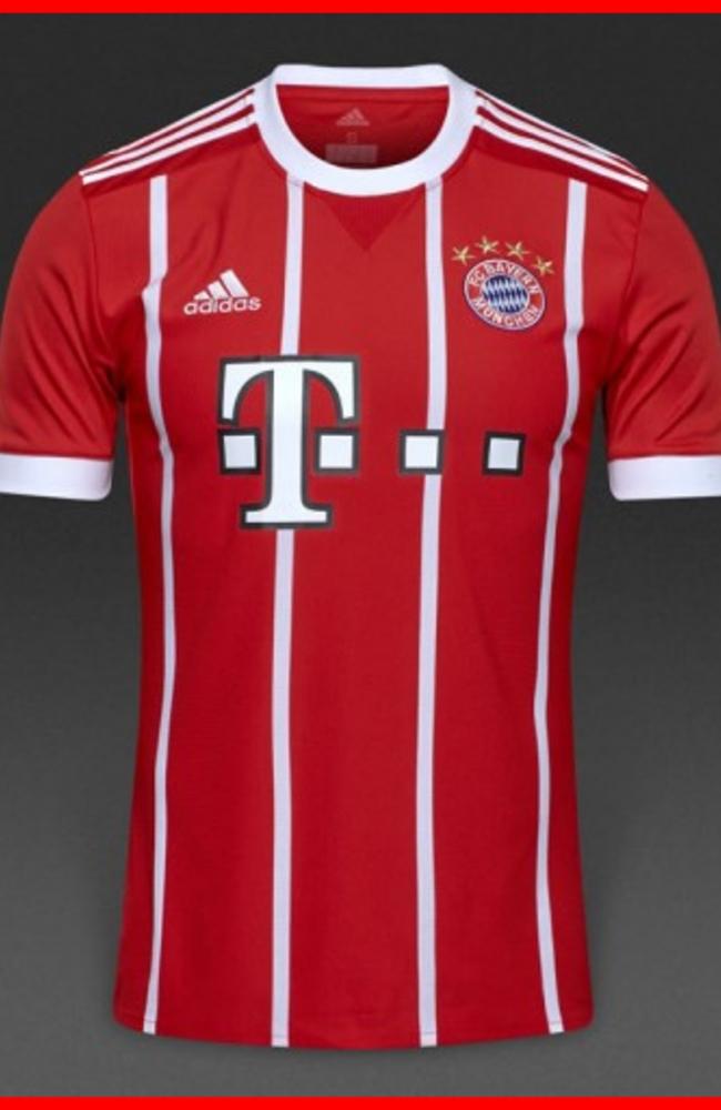 Bayern Munich Home 2017/2018