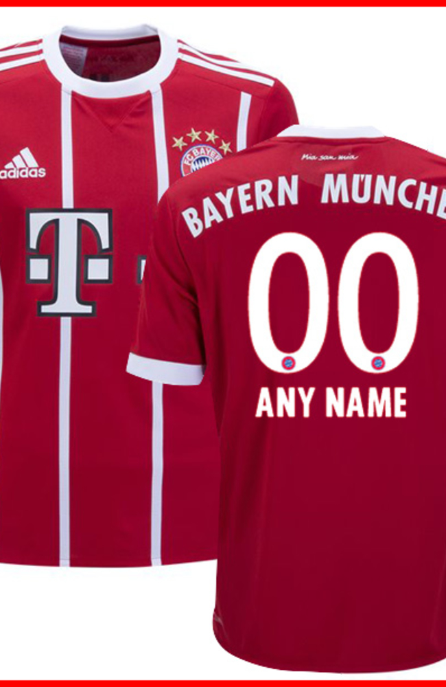 Customized FC Bayern Munich Jerseys Sale