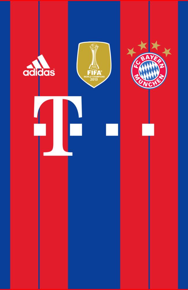 FC Bayern Munich Home Kit Wallpaper by the27thFalkon on DeviantArt