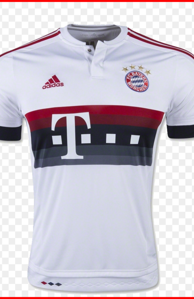 FC Bayern Munich Bundesliga UEFA Champions League Third jersey - FCB ...