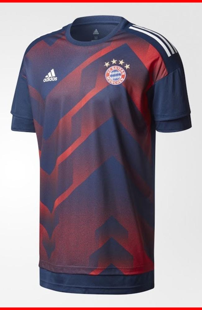 adidas Bayern Munich 2017/18 Pre Match Jersey - YouTube