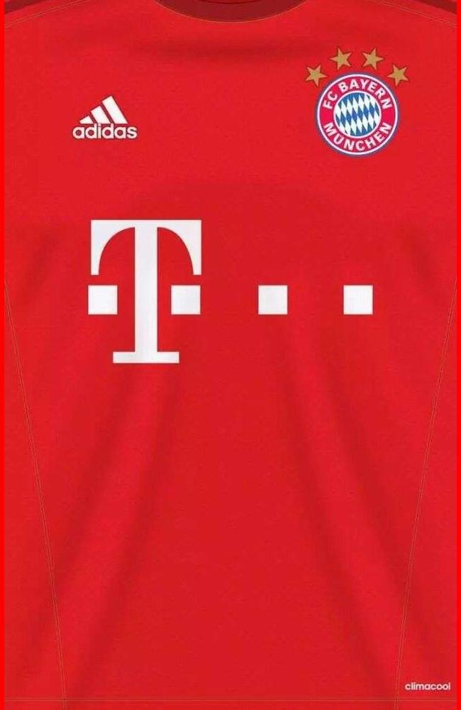 Wallpaper Jersey Bayern Munchen - Soccer Club Wallpaper